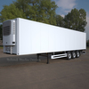 Refrigerated Semi Trailer (European).