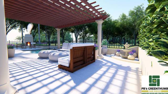 Back Patio 3D Model