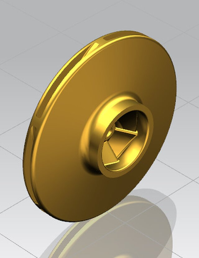 Centrifugal Impeller Modelling and rendering