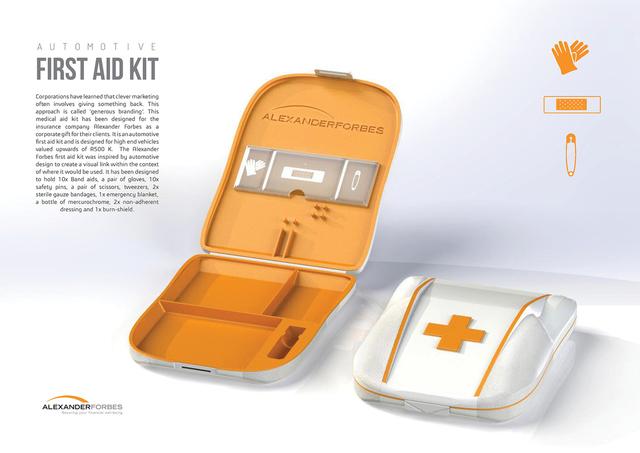 Alexander Forbes Medical Aid Kit