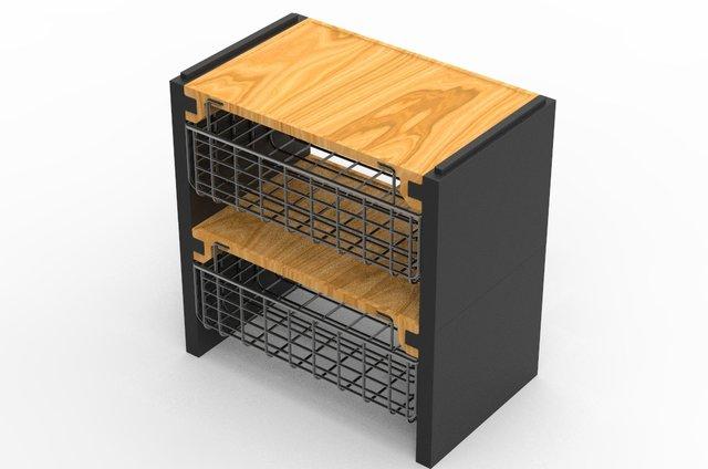Bamboo pantry Organizer
