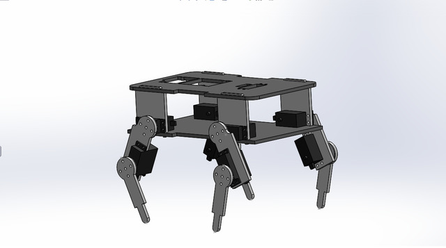 Quadropod Robot