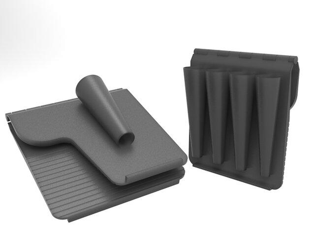 3D-Printable paper-case