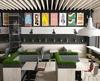 Interior design for fast-food