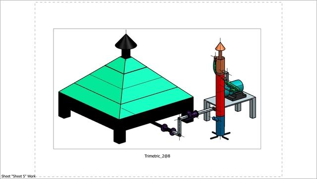 Pyramid shape solar-biomass hybrid drying system