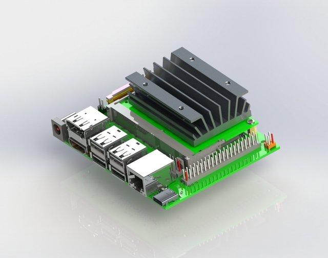 nVidia Jetson Nano Development PC Board Assembly