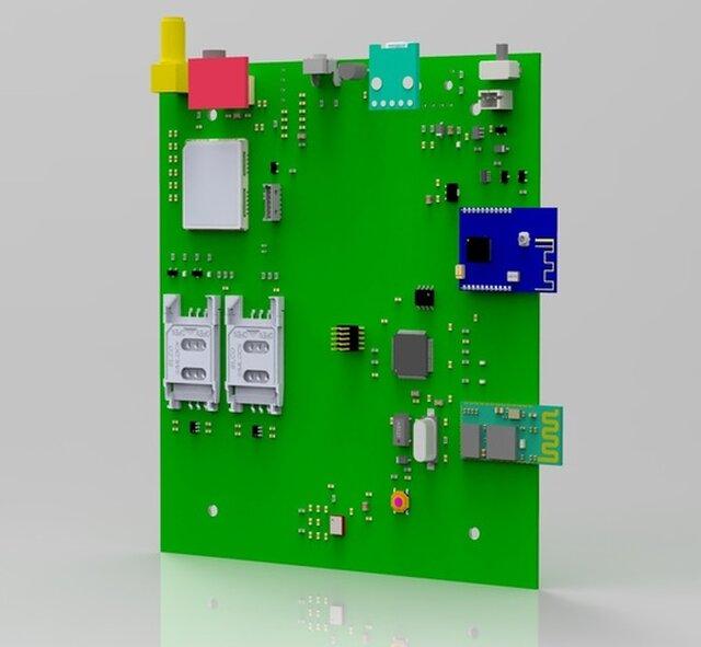 STM32 MULTI COMMUNICATION BOARD