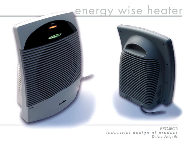 Energy-wise Space Heater