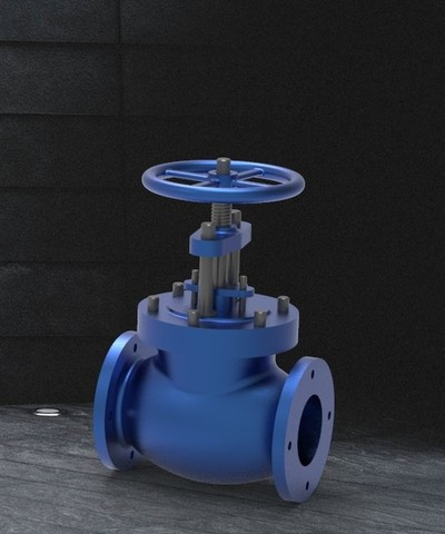 Wheeled Ball Valve