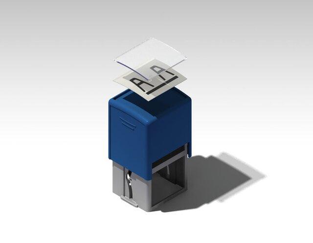 Selfinking Stamp Assembly