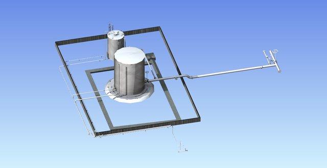 Vertical Vessel for Oil Design
