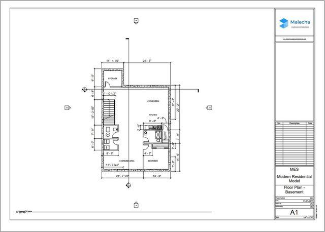 Modern Residential Home Model