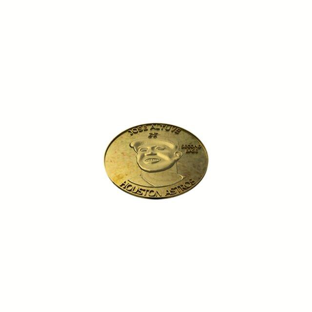Baseball Player Coin 3D sculpt Design