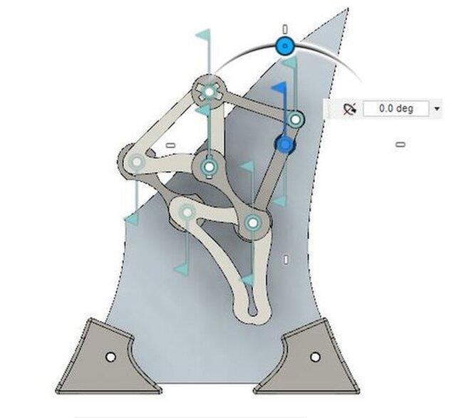 theo jansen leg kinetic sculpture