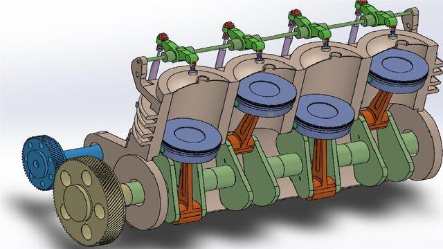 motor drawing