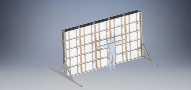 Steel Frame stand