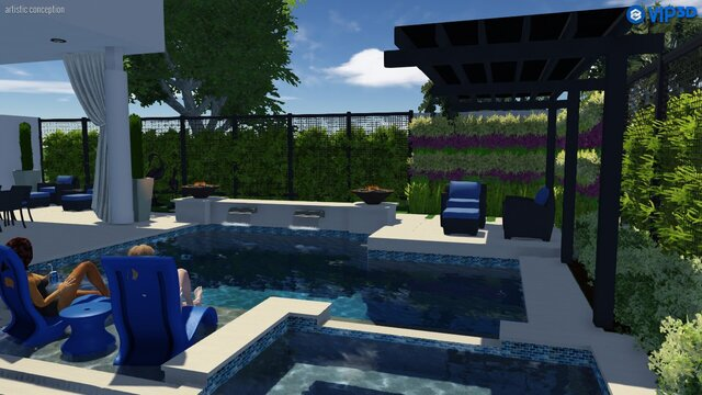 Various pics from Pool Studio designs