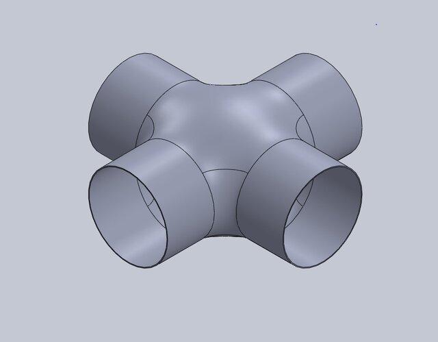 cross-pipe