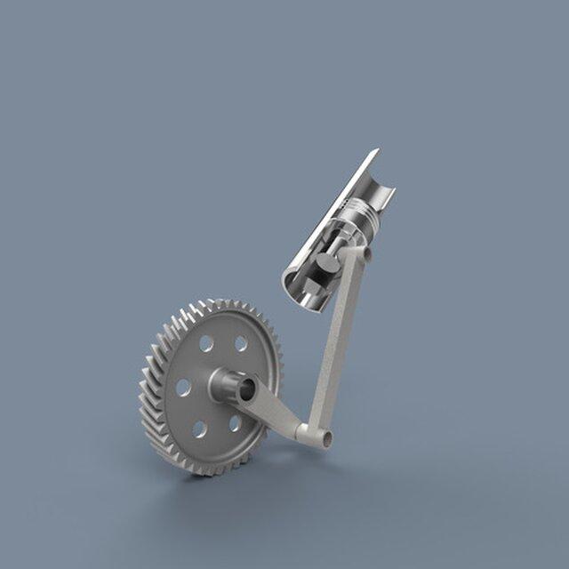 Slider Crank Motion Study