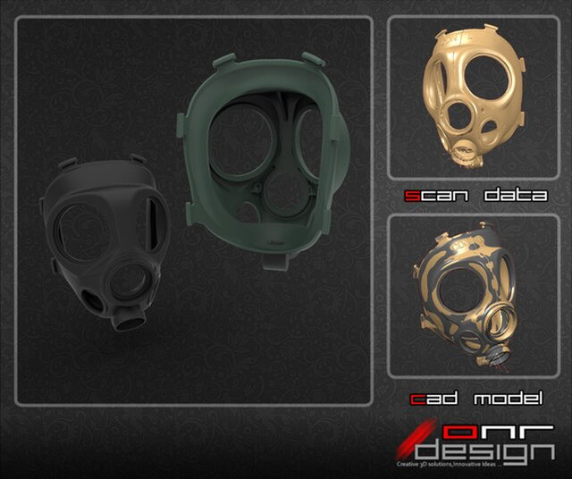 Tactical Gas Mask Reverse Engineering