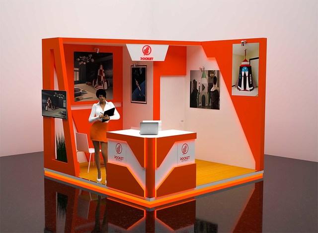 3d design booth