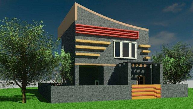3d-house-plan Revit