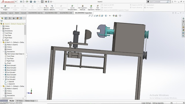 Modeling,Design and  simulation of transmission mechanism