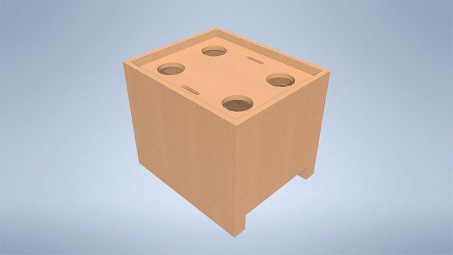 Wartsila W32 HP Fuel Pump Carrying Box Design
