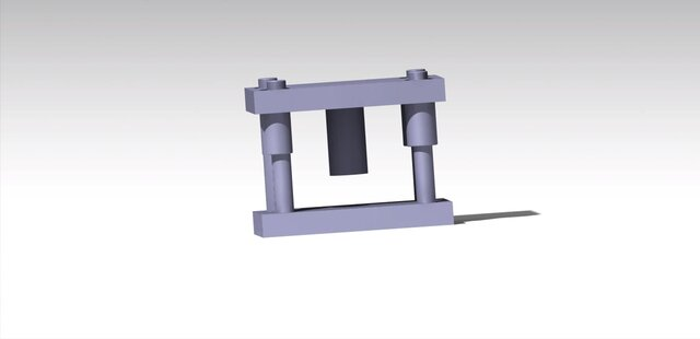 Press tool assembly