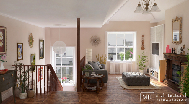 Interior Visualisation CGI