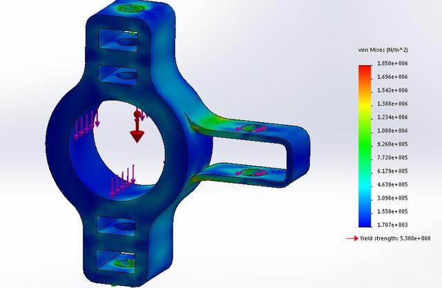 Formula SAE Wheel Hub
