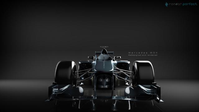 Mercedes W04 - ReDesign