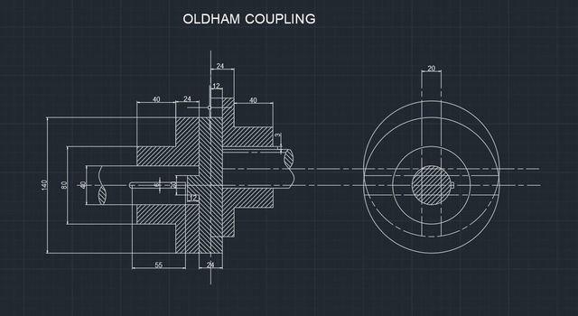 Oldham coupling