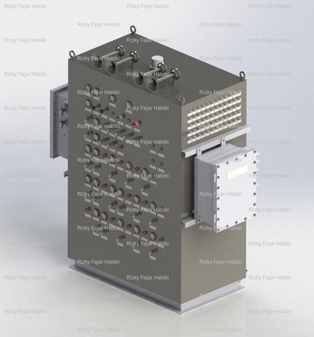 General Arrangement Drawing of Electro Pneumatic Shutdown System