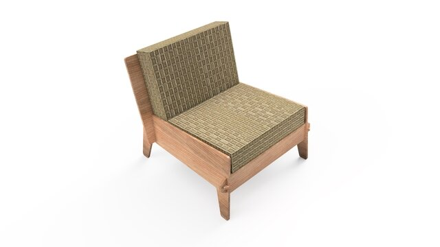 Parody at IKEA OVERALLT chair - plywood