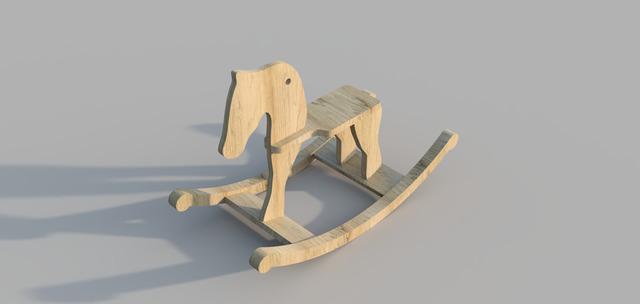 Rocking Horse - Reddit CAD Challenge