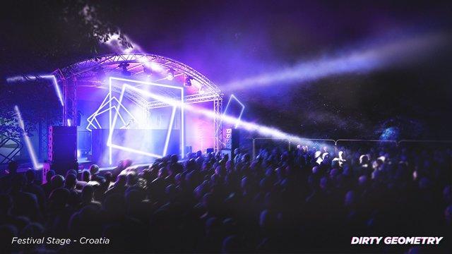 Festival Stage Render