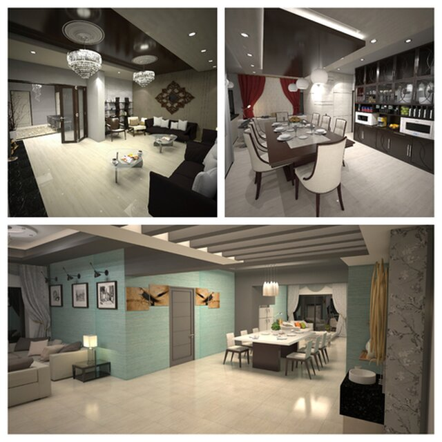 Interior Design And Presentation Of An Apartment Download Free 3d Model By Mir Rasauddin Cad Crowd