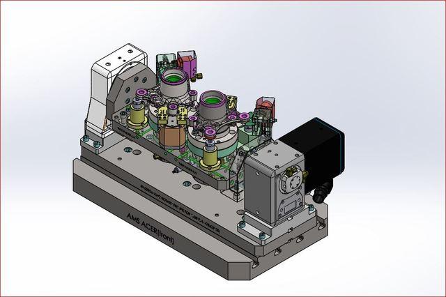 vmc hydraulic 4th axis machining fixture