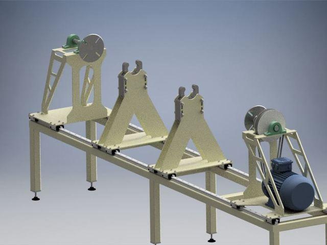 cardan shaft balancing equipment