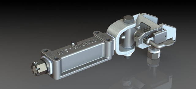 Off Road Trailer Hitch