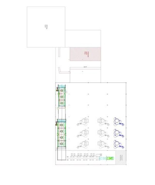 Tea factory Layout design for rolling room