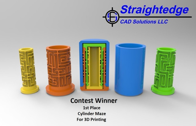 3D Cylinder Maze