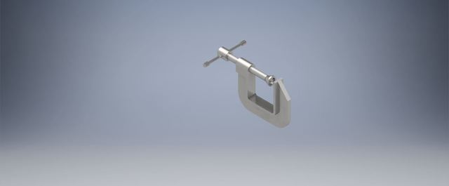 3d rendering g clamp