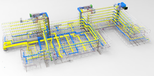 MEP to Building Information Modeling Services - Silicon Info