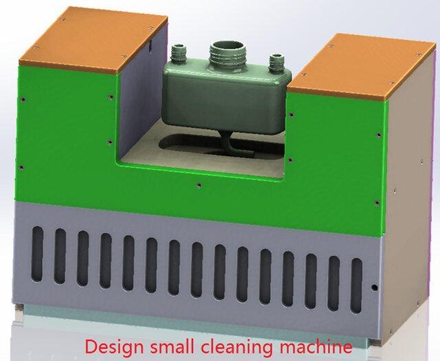 design cleaning machine