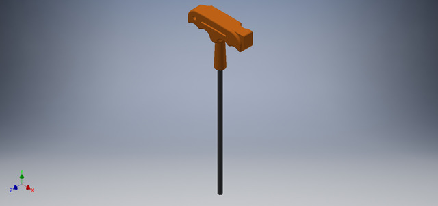 L Tool Key with Hammer