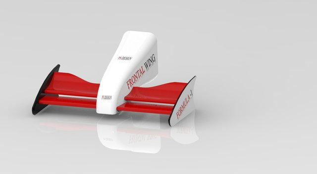 Formula one frontal wing