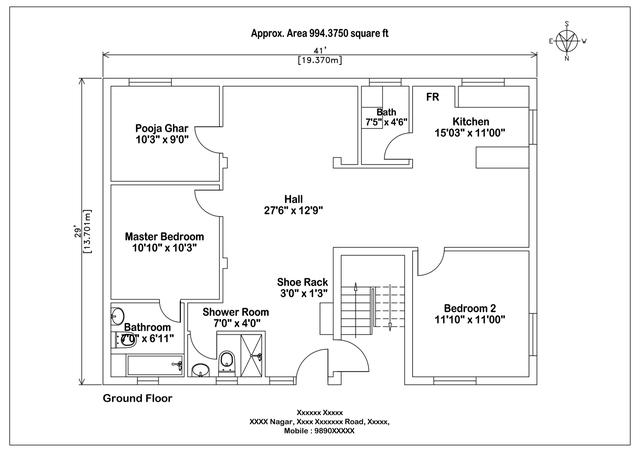 Simple Floorplan