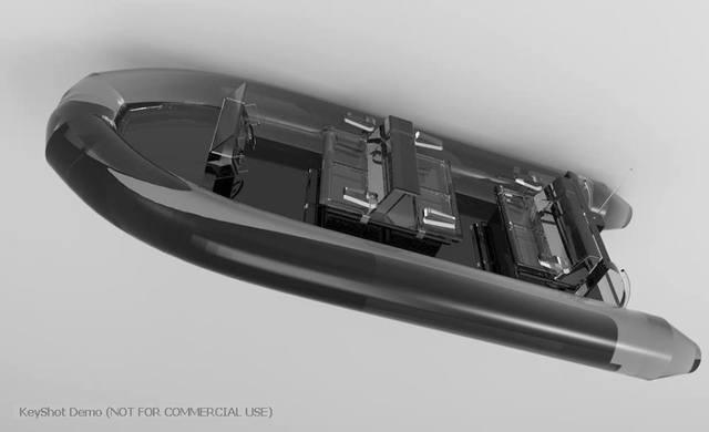 Jet Boat Model